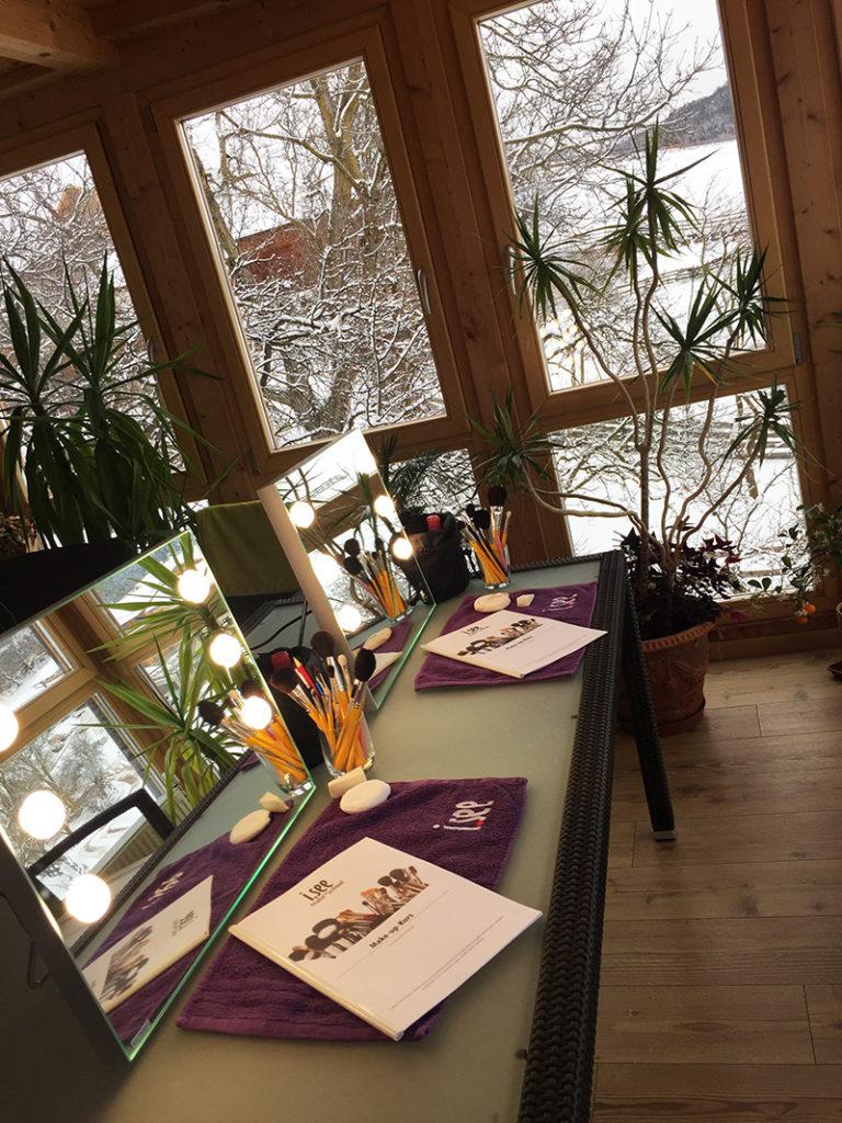 Winterliche Workshop-Location kurz vor Frühlingsbeginn  - Mölten im Schnee/Meltina nella neve